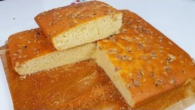 تهیه دسر-کیک ساده مجلسی