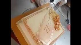 کیک پزی-نحوه کار با ایر براش برای تزئین و طراحی کیک ، شیرینی ، دسر و بستنی