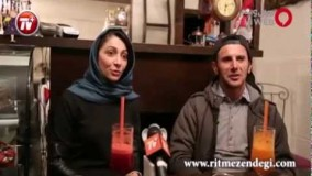 در شب رونمایی امین حیایی و نیلوفر خوش خلق از کافه وانیل پرطرفدارشان در لواسان/قسمت اول