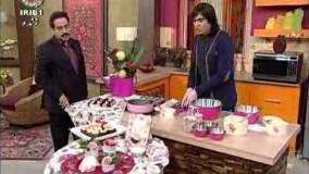 تهیه دسر-کیک دو رنگ یوفکا