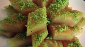 تهیه دسر--طرز تهیه مسقطی شیرازی