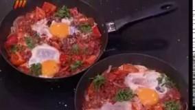 آشپزی آسان-املت لوبیای مکزیکی