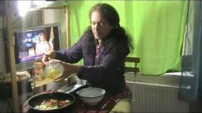 آشپزی آسان-تهیه املت قارچ
