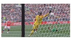 اولین گل جام جهانی 2018 توسط گازینسکی به عربستان