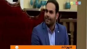 سیامک عباسی از علت پنهان کردن چهره خودش در دورهمی رونمایی کرد