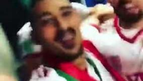 شادی بازیکنان تیم ملی در رختکن با آهنگ آرش-جام جهانی روسیه
