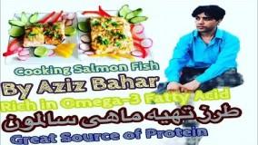 آشپزی آسان  . طرز تهیه ماهی سالمون