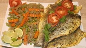آشپزی آسان- ماهی تنوری خوشمزه
