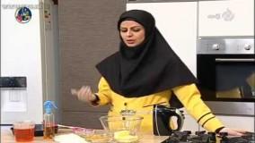 کیک پزی- آموزش تهیه کیک باقلوا