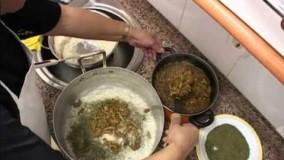 آشپزی ایرانی-تهیه لوبیا پلو خوش طعم و رنگ
