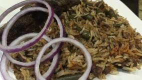 آشپزی ایرانی-تهیه لوبیا پلو -یک غذای خوشمزه