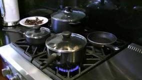 آشپزی ایرانی-تهیه کشک و بادمجان-1