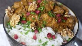 آشپزی ایرانی-تهیه فسنجان ایرانی خوشمزه