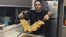 آشپزی ایرانی-آموزش دنده دوسیخ کباب و یک راز مهم برای نرم کردن هر گوشتی )