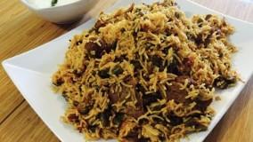 آشپزی ایرانی-تهیه لوبیا پلو