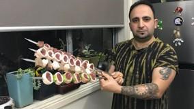 آشپزی ایرانی-آموزش خان کباب !لاکچری ترین کباب