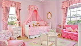 دکوراسیون اتاق نوزاد-دکوراسیون اتاق خواب نوزاد دختر