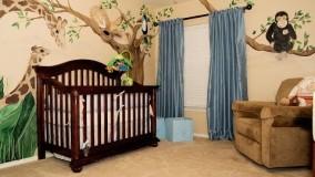 رنگ و دکوراسیون اتاق کودک-دکوراسیون اتاق نوزاد
