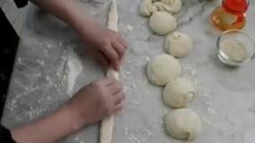 آشپزی ایرانی-آموزش نان  خانگی