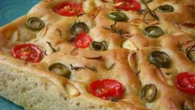 آشپزی ایرانی - آموزش درست کردن نان فوکاشا