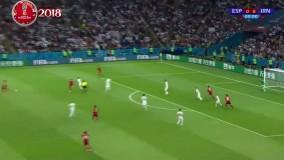 خلاصه بازی ایران 0 - 1 اسپانیا- خلاصه بازی ایران اسپانیا