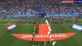 پخش زنده بازی آرژانتین کرواسی (دقیقه 5 بازی)