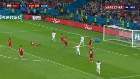 بازی ایران و اسپانیا در جام جهانی-گل اسپانیا
