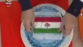 شیرینی پزی-تكنيك چاپ عكس روی كيك خانم گلآور