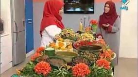 آشپزی ایرانی-خانم گلاور میرزاقاسمی