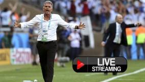 پخش آنلاین فوتبال ایران پرتغال-نتیجه بازی ایران پرتغال