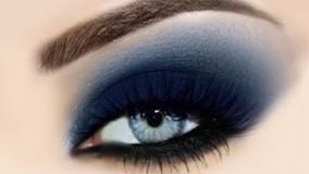 ارایش چشم مشکی, آرایش چشم مشکی درشت, آرایش چشم با سایه مشکی