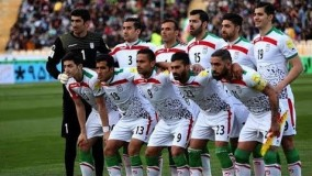 تصاویر ورود هواپیمای تیم ملی ایران به فرودگاه شهر کازان!
