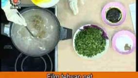 آشپزی رمضان-آش دوغ-افطار چی بپزم