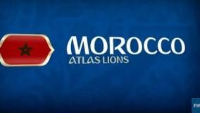 معرفی تیم ملی مراکش در جام جهانی 2018