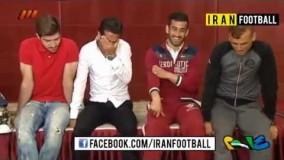 شوخی نود با بازیکنان تیم ملی ایران
