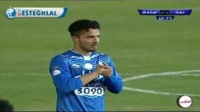 سوپرگل امید ابراهیمی به نفت تهران