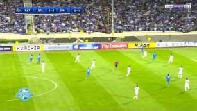 خلاصه بازی زیبای استقلال تهران و ذوب اهن اصفهان با گزارش عربی