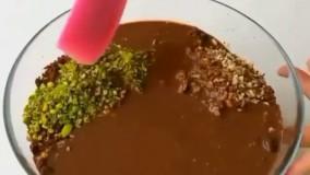 دسر شکلاتی بدون نیاز به فر