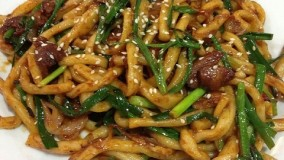 آشپزی مدرن-ماکارونی و سوپ با سبک ترکان اهل چین