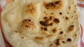 تهیه نان- نان تافتون تنوری بدون مایه خمیر، بسیار ترد و لذیذ