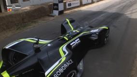 ماشین خودران Roborace در فستیوال سرعت گودوود (2) - گجت نیوز