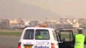 فرود هواپیما مسکو - تهران با چرخهای بسته