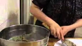 آموزش آشپزی-تهیه کشک و بادمجان با بادمجان کبابی
