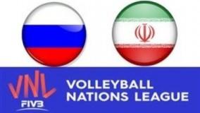 خلاصه والیبال روسیه    ایران