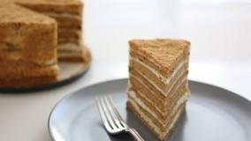 کیک پزی-کیک عسل روسی
