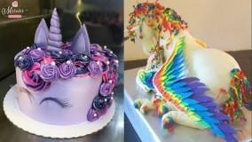 20 ایده تزیین کیک تولد دخترونه