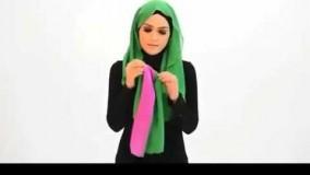 12-بستن روسری