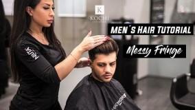 مدل مو پسرانه 2018-مدل مو مردانه طرح جدید