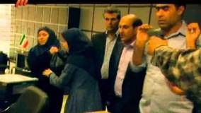 صحنه های طنز سریال دزد و پلیس  هومن برق نورد و  سرقت مسلحانه از بانک
