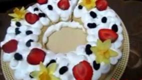 پخت کیک -کیک سابله